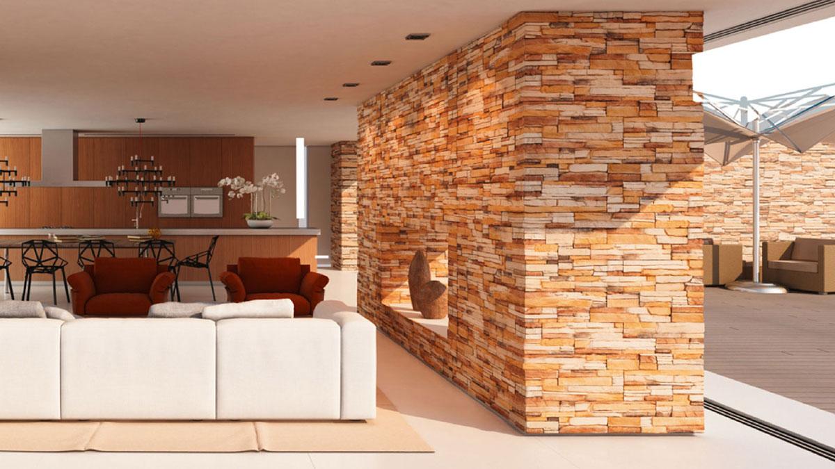 italienisches design in stein. Black Bedroom Furniture Sets. Home Design Ideas